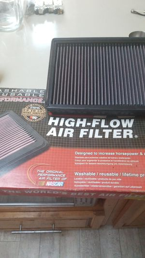 K and N high end reusable airfilter like new for Dodge Ram Truck 2011 to 2019 for Sale in Imperial Beach, CA