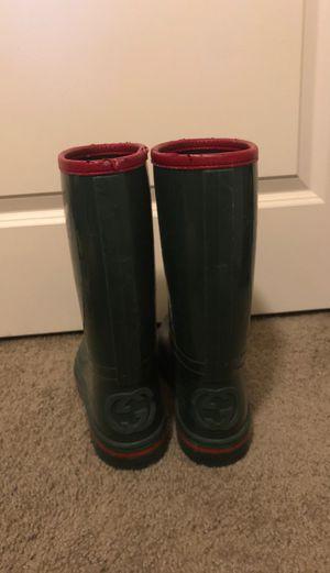 Gucci rain boots for Sale in Orlando, FL