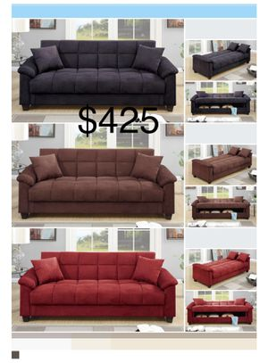 New Futon / Sofa / Bed. Free Delivery! for Sale in Los Angeles, CA