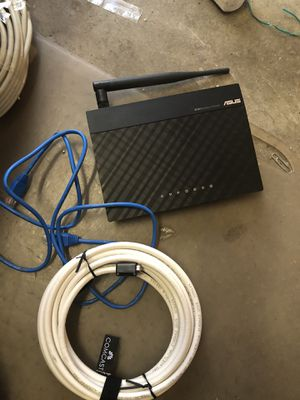asus wifi router RT-N12 for Sale in Sunnyvale, CA