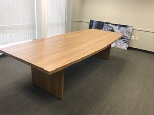 Conference table plus writing board with cabinet. New for Sale in Alexandria, VA