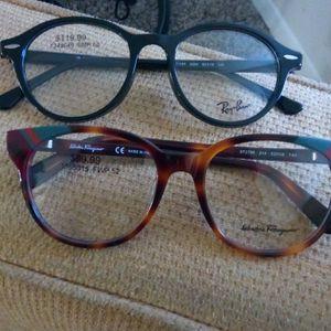 Ray Ban & Ferragamo brand glasses for Sale in Washington, DC