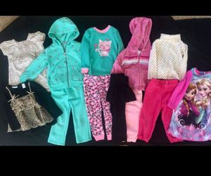 Lot of Girls Clothes Size 24 mo months Top Pants Pajama for Sale in Phoenix, AZ