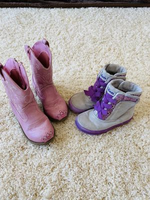 Girls boots size 8.5 and 9 for Sale in Greenville, SC