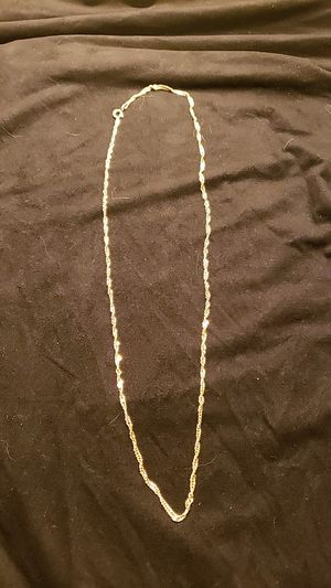 14kt Gold 5.6g Necklace rope chain for Sale in Brooklyn, NY