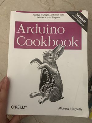 Arduino Cookbook Textbook for Sale in Jamestown, NC