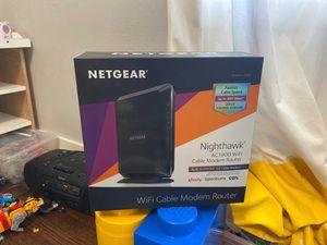 Netgear C6900 Nighthawk AC1900 cable modem for Sale in Portland, OR