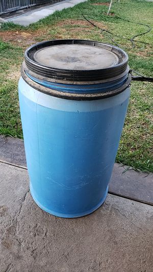 Plastic barrels. for Sale in Ontario, CA