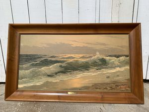 Vintage mid century oil painting for Sale in Oxnard, CA