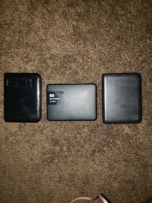 1 terabyte WD external hard drive Passports for Mac for Sale in Placentia, CA