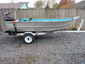 '84 Western 12 foot boat for Sale in Scappoose, OR