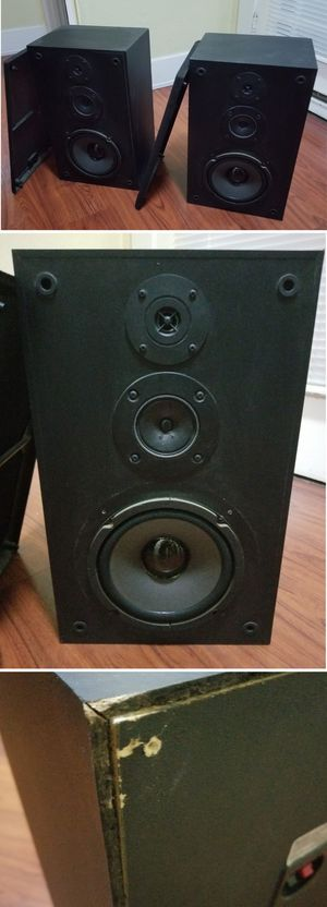 $20 firm Sony 280w speakers for home stereo system theater for Sale in Long Beach, CA
