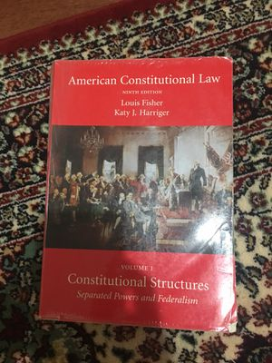 American Constitutional Law ninth edition for Sale in Fairfax, VA