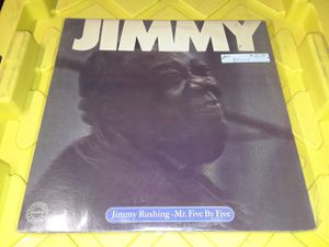 Jimmy Rushing Mr Five by Five vinyl record album jazz blues Promo for Sale in Downey, CA