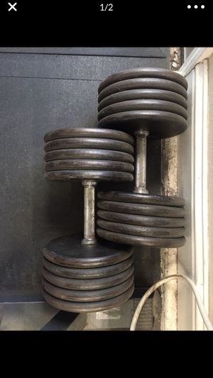 100 lb dumbbells. Make offer for Sale in Escalon, CA