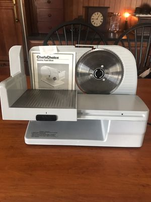 Chefs choice electric food slicer model 610 for Sale in Stoneham, MA