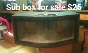 Subwoofer box for Sale in Englewood, CO