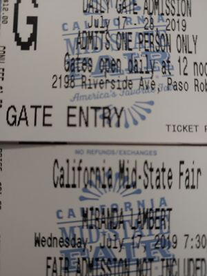 Miranda Lambert concert tickets for Sale in San Luis Obispo, CA