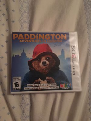 NINTENDO 3DS Never been opened Paddington Adventures in London for Sale in Atwater, OH