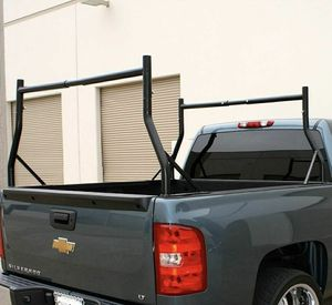 New in box Universal set of 2 Cargo Ladder Truck Racks Width Adjustable 650 lbs Capacity estante de la escalera del camion for Sale in Whittier, CA