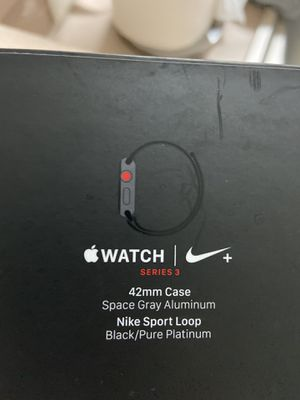 Apple Watch 42mm Nike Plus series 3 - Cellular & GPS for Sale in Port St. Lucie, FL
