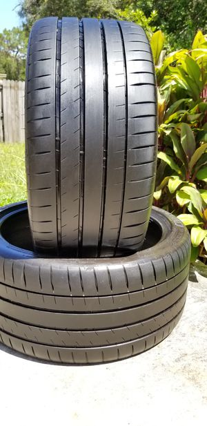 255/35/18 MICHELIN PILOT SUPER SPORT for Sale in Tampa, FL