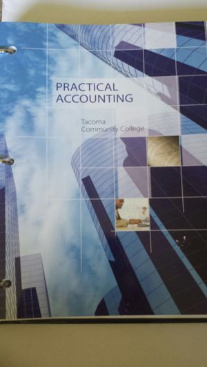 Practical accounting text book for Sale in Tacoma, WA
