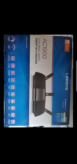 Linksys EA6900 Smart WiFi Router Faster and Bigger Range for Sale in Modesto, CA