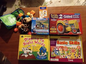 Kids Games, puzzles and flash cards for Sale in Beaverton, OR