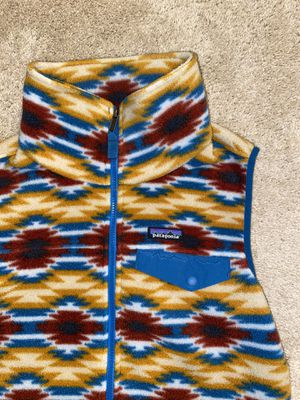 Patagonia Synchilla fleece vest Women's size M for Sale in New Albany, OH