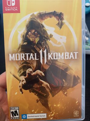 Nintendo switch mortal Kombat game for Sale in Homestead, FL