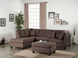 🎈3PC Reversible Sectional with Free Ottoman🎈 for Sale in Hialeah, FL