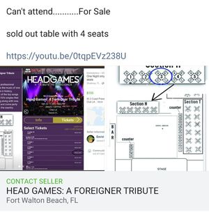 Head Games: Foreigner Tribute for Sale in Fort Walton Beach, FL