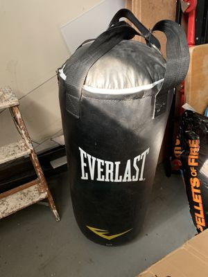 Everlast Punching Bag for Sale in Union, NJ