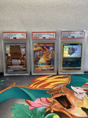 3 PSA Graded Pokemon Card's for Sale in Holbrook, AZ