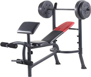 Weider Pro Workout set bench weight and bar for Sale in Foxcroft Square, PA