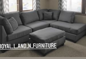 SECTIONAL SOFA SET WITH OTTOMAN for Sale in Corona, CA