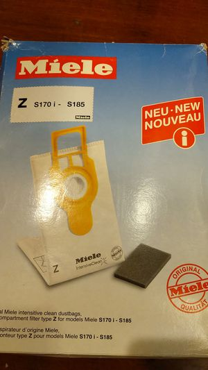 Miele Z series vacuum dustbag and filter ((5 pack) +1 for Sale in Mountain View, CA