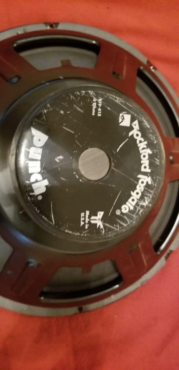 """Vintage 1994 RockFord Fosgate 15"""" woofer"""