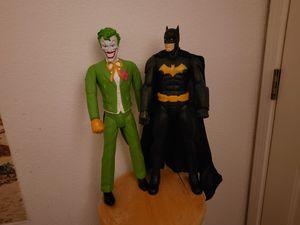 Batman and Joker for Sale in Merced, CA
