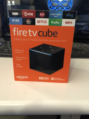 New Jailbroken Fire TV Cube. for Sale in Fresno, CA