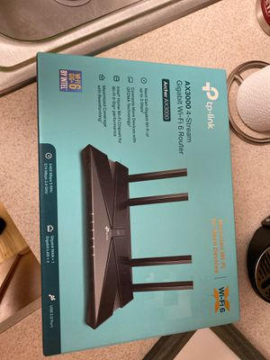 Tp-link ax3000 WiFi router for Sale in Northbrook, IL