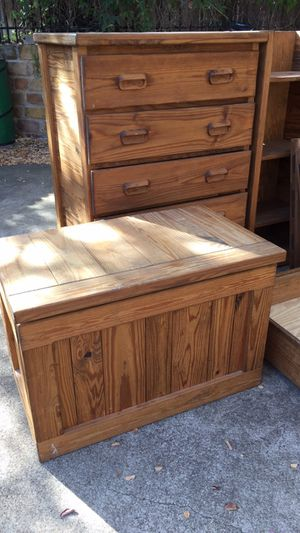 CARGO brand bunk beds (twins) & whole room furniture. 3 images. for Sale in Colleyville, TX