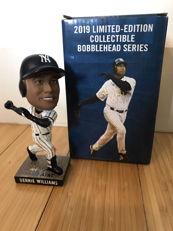 Bernie Williams Yankees 2019 Limited-Edition Collectible Bobblehead