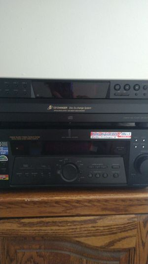1..Sony Receiver...and 1..5 disc C.D. Changer. They are both in very good condition they are both Sony products.. selling both together for 35.00.. for Sale in Scottsdale, AZ