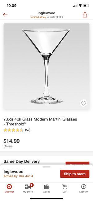 Martini Glasses for Sale in Los Angeles, CA