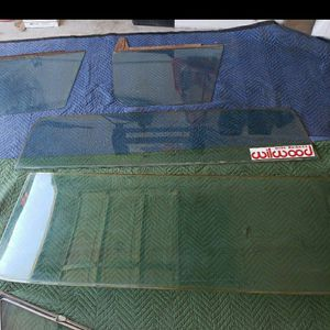 68-72 C10 Oem Door Windows Windshield And Rear Window for Sale in Kingsburg, CA