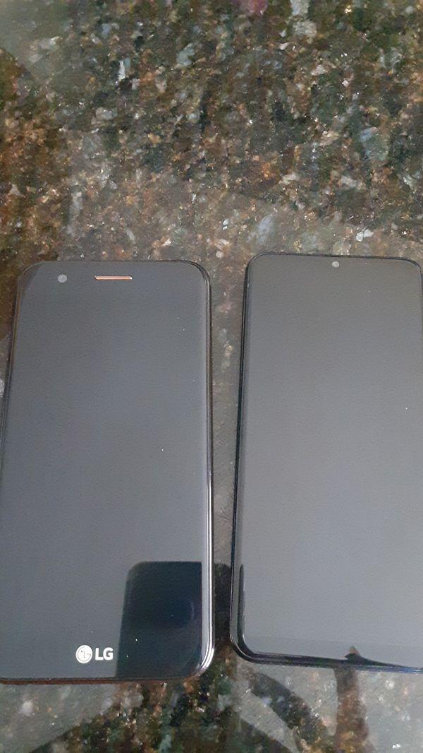 Lg for metro pcs like new $55 sansun galacy a10e for boos mobile like new $55