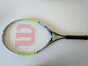 Wilson titanium tennis racket for Sale in North Olmsted, OH