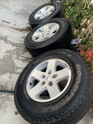 """17"""" rims & tires $300 for Sale in Los Angeles, CA"""